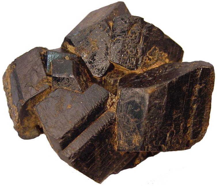 i billeder hornblende - Krystaller og Sten