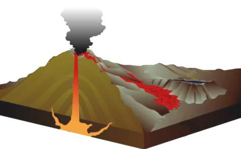 vulkan 02 - Krystaller og Sten