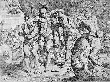 odyss04 - Odysseen af Homer - Resume og fuld version Illustreret