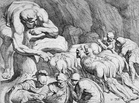 odyss07 - Odysseen af Homer - Resume og fuld version Illustreret