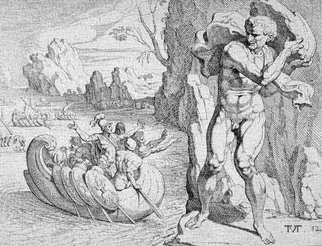 odyss08 - Odysseen af Homer - Resume og fuld version Illustreret