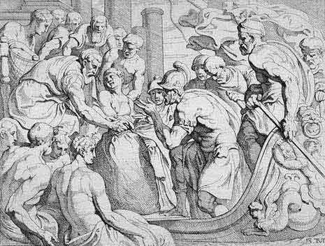 odyss09 - Odysseen af Homer - Resume og fuld version Illustreret