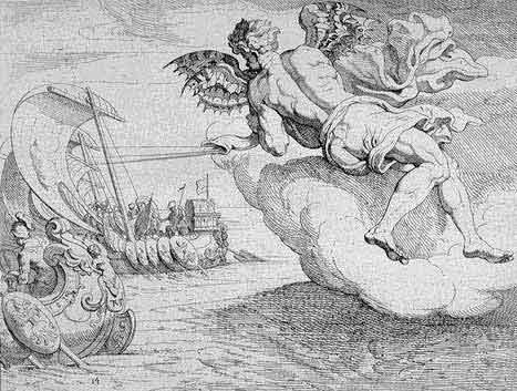 odyss10 - Odysseen af Homer - Resume og fuld version Illustreret