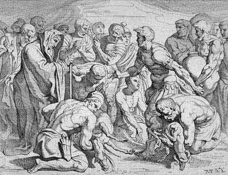 odyss14 - Odysseen af Homer - Resume og fuld version Illustreret