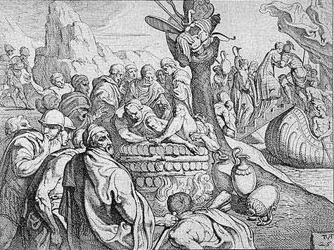 odyss18 - Odysseen af Homer - Resume og fuld version Illustreret