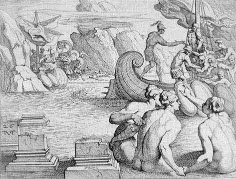 odyss19 - Odysseen af Homer - Resume og fuld version Illustreret