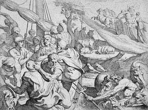 odyss20 - Odysseen af Homer - Resume og fuld version Illustreret
