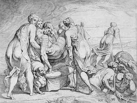 odyss22 - Odysseen af Homer - Resume og fuld version Illustreret