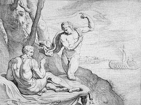odyss23 - Odysseen af Homer - Resume og fuld version Illustreret