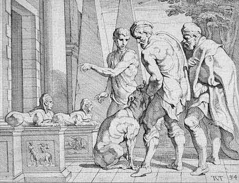 odyss26 - Odysseen af Homer - Resume og fuld version Illustreret