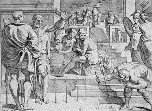 odyss31 - Odysseen af Homer - Resume og fuld version Illustreret