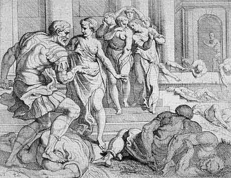odyss34 - Odysseen af Homer - Resume og fuld version Illustreret