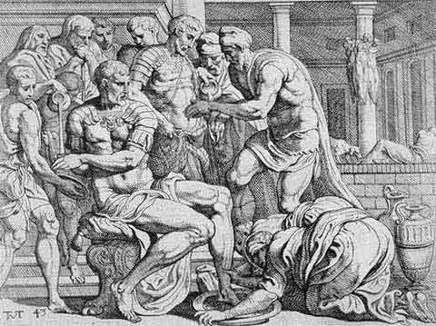 odyss35 - Odysseen af Homer - Resume og fuld version Illustreret