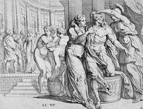 odyss37 - Odysseen af Homer - Resume og fuld version Illustreret