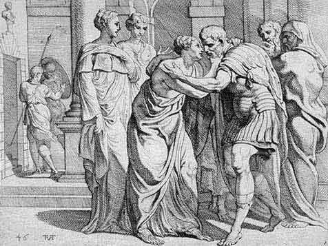 odyss38 - Odysseen af Homer - Resume og fuld version Illustreret