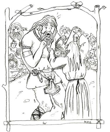 myter tor 01 - Nordisk mytologi Jætterne