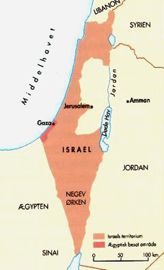 israel palæstina konflikten