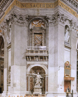 hvornår blev peterskirken i rom bygget