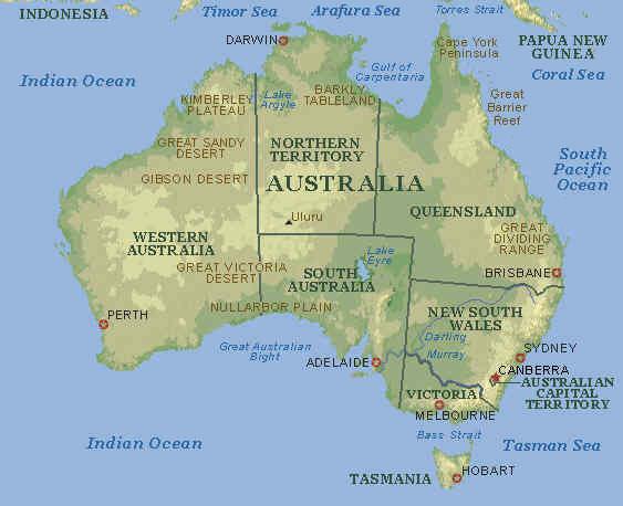 regnskove i australien