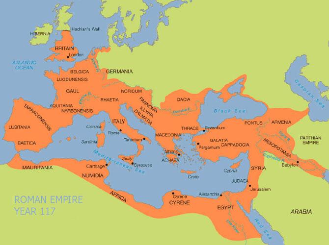 romerrigets storhedstid