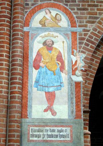 Harald Blåtand, Roskilde Domkirke