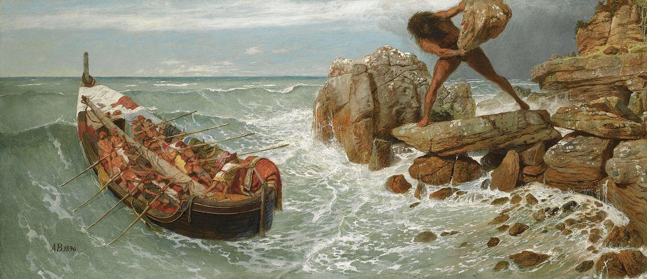 Odysseus and Polyphemus - Odysseen af Homer - Resume og fuld version Illustreret