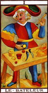 The Magician Tarot Marseilles