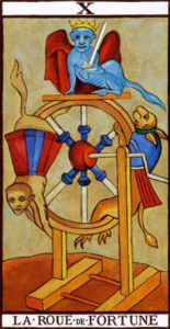 The Wheel of Fortune Tarot Marseilles