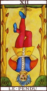 The hanged man Tarot Marseilles
