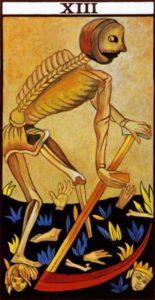 Death Tarot Marseilles