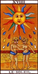 Tarot The Sun Marseilles