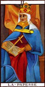 The High Priestess Tarot Marseilles