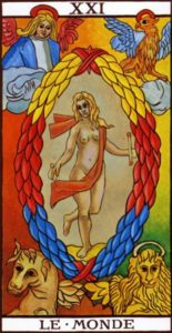 The World Tarot marseilles