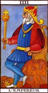 The emperor Tarot Marseilles