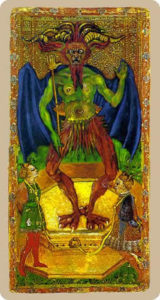 The devil Tarot Cary-Yale