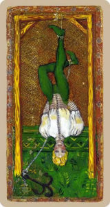 The hanged man Tarot Cary-Yale