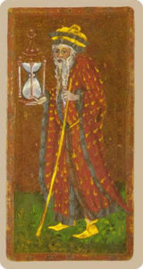 The Hermit Tarot Cary-Yale
