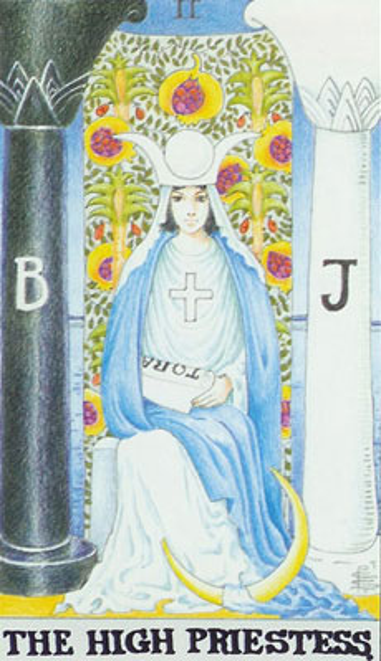 The High Priestess Tarot