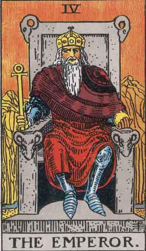 Kejseren Tarot