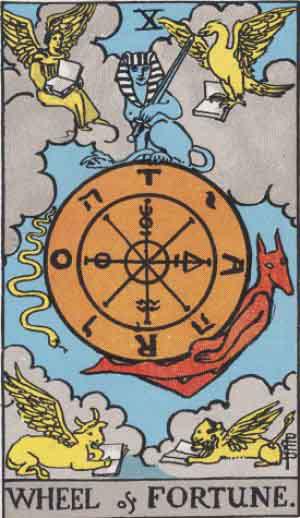 Skæbnehjulet Tarot