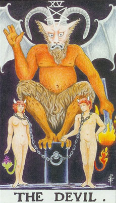 The devil Tarot