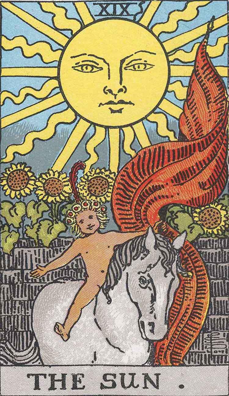 Tarot Solen