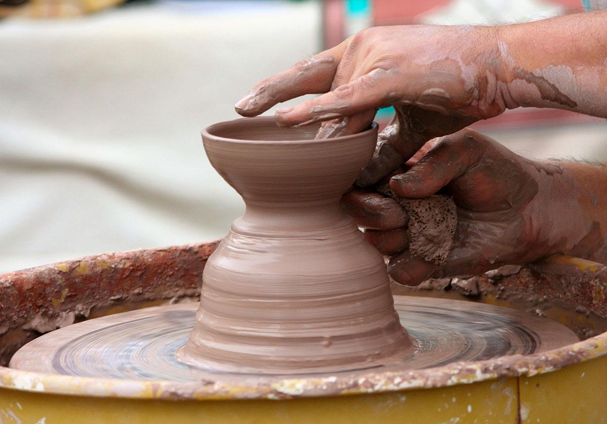 Drøm om ler, keramik