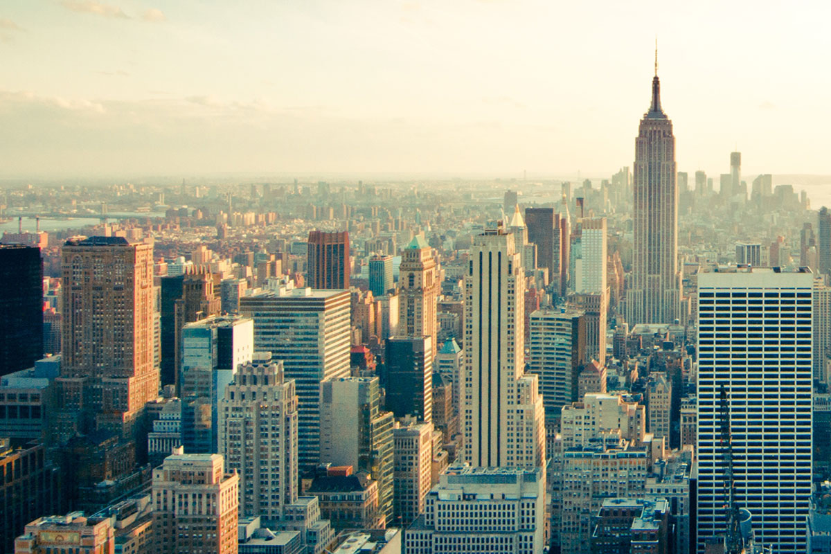 Drøm om skyscraper