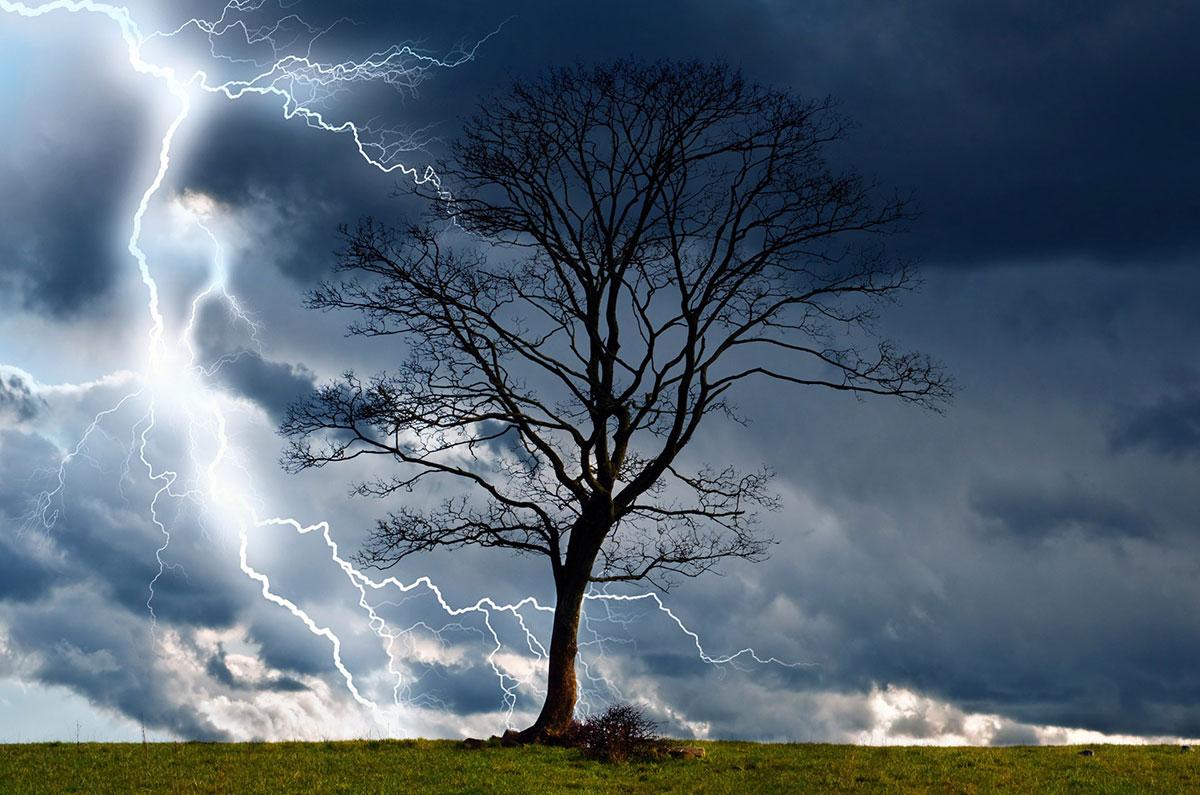 Drøm om lyn og lynnedslag