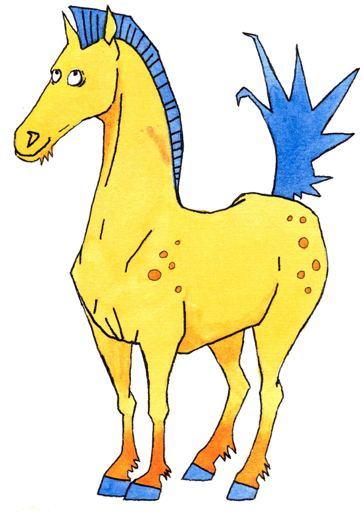 Kinesisk dyretegn Hest