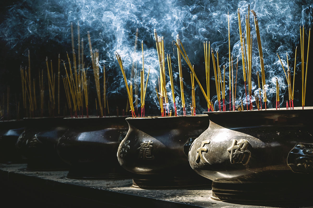 Feng shui røgelse