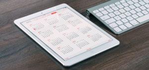 kalender oversigt kurser, foredrag