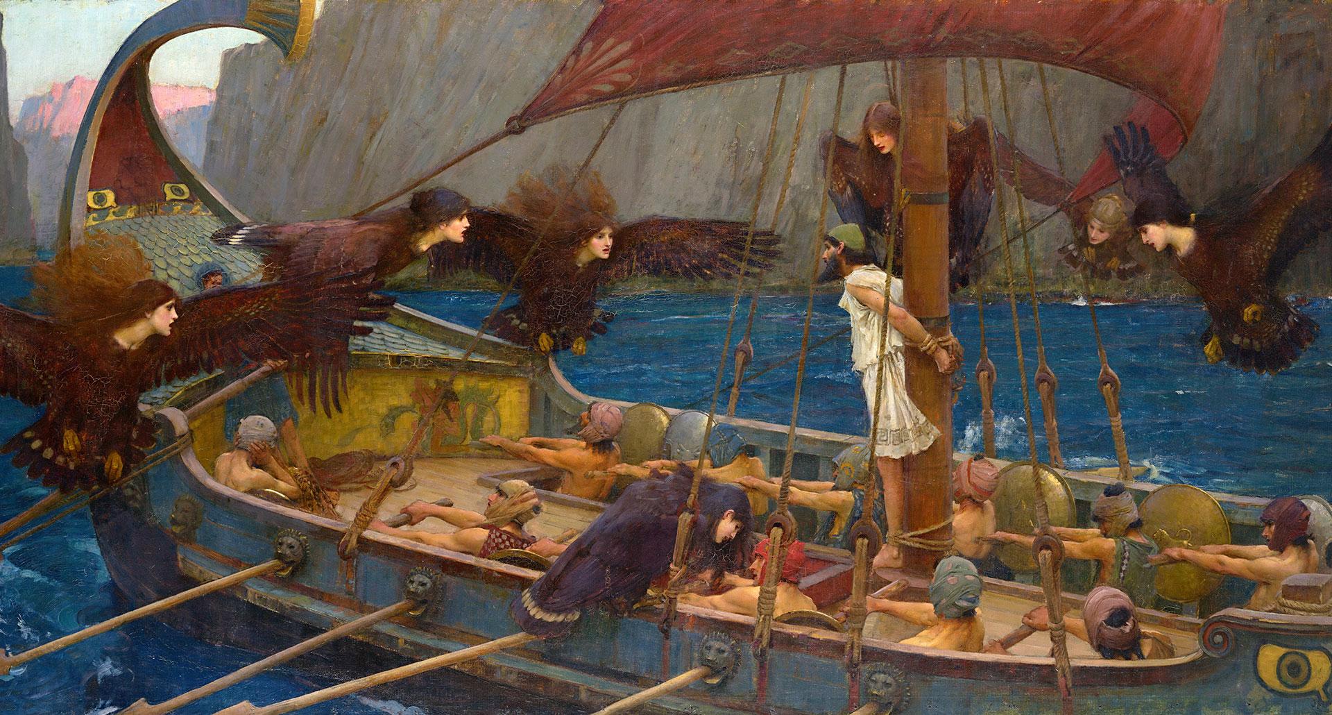 myt greek oysseen3 - Odysseen af Homer - Resume og fuld version Illustreret