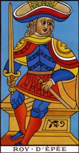 King of Swords Marseilles